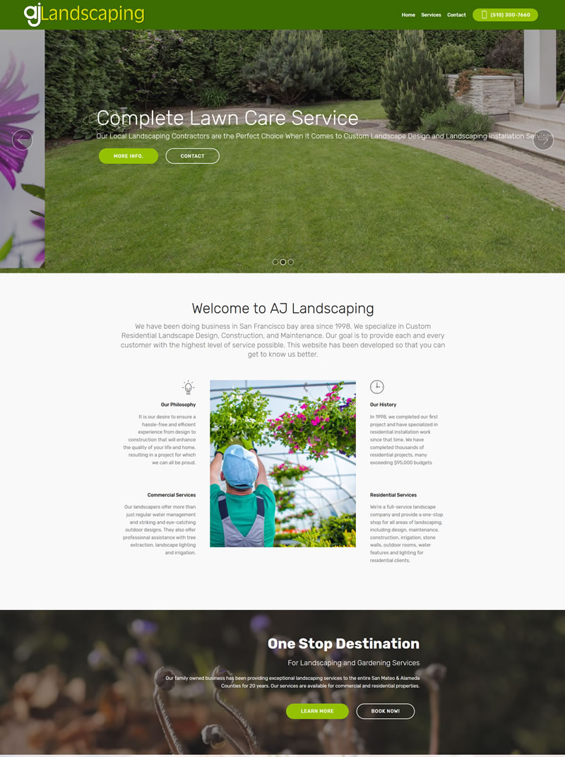 Bay area Landscaping Company AJ Landscaping