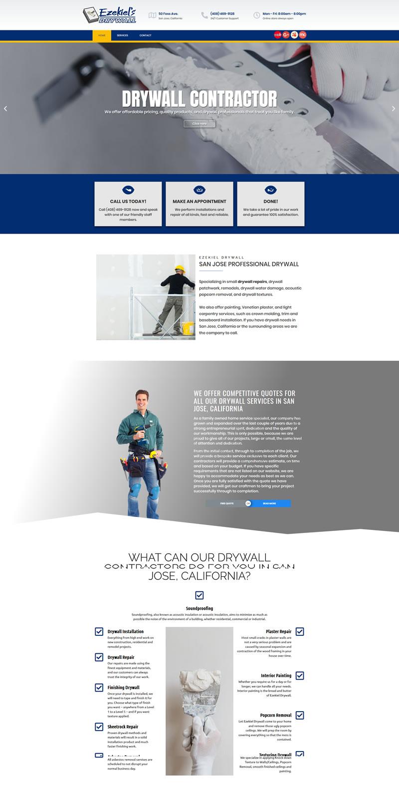 Home Ezekiel Drywall Services Free Estimate 408 469 9128