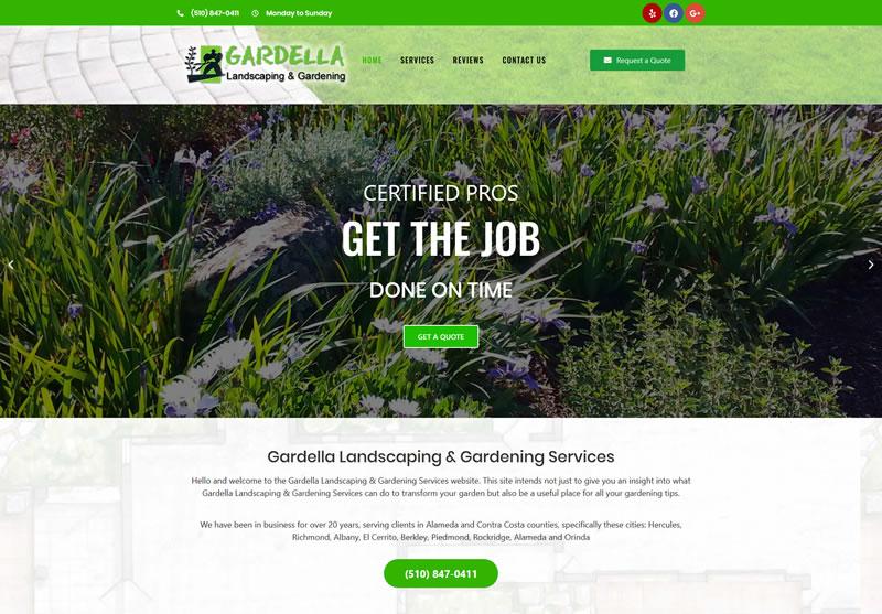 Home Gardening Landscaping Services in Berkeley CA