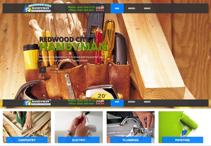RP Handyman in Redwood City Small Jobs Specialist