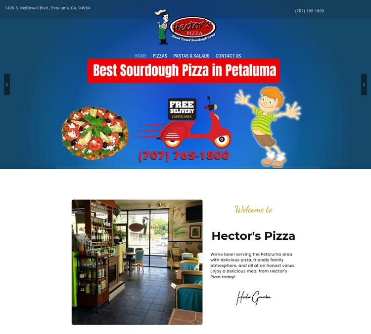 Sourdough Pizza in Petaluma Hector s Pizza
